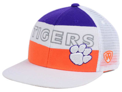Clemson Tigers Top of the World NCAA Midcourt Snapback Cap