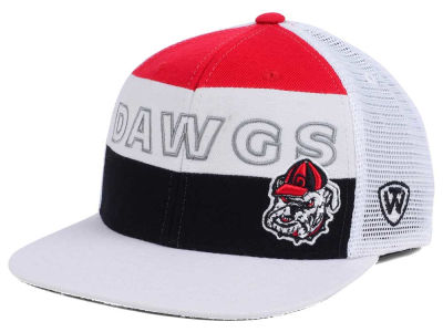 Georgia Bulldogs Top of the World NCAA Midcourt Snapback Cap