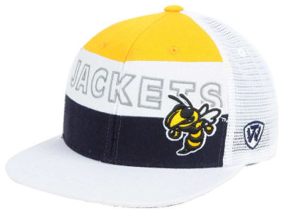 Georgia-Tech Top of the World NCAA Midcourt Snapback Cap
