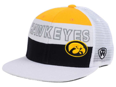 Iowa Hawkeyes Top of the World NCAA Midcourt Snapback Cap