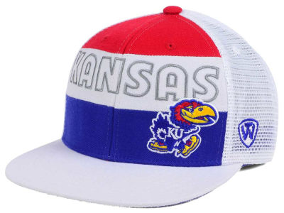 Kansas Jayhawks Top of the World NCAA Midcourt Snapback Cap