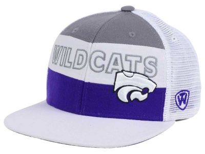 Kansas State Wildcats Top of the World NCAA Midcourt Snapback Cap