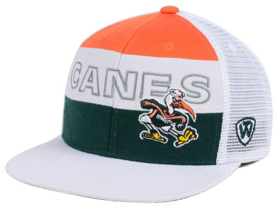 Miami Hurricanes Top of the World NCAA Midcourt Snapback Cap