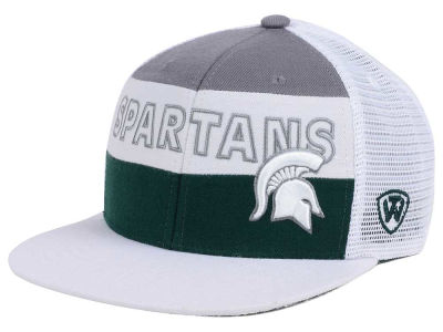 Michigan State Spartans Top of the World NCAA Midcourt Snapback Cap