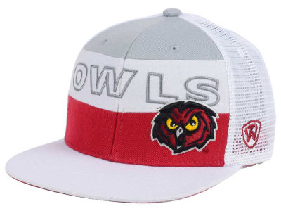 Temple Owls Top of the World NCAA Midcourt Snapback Cap