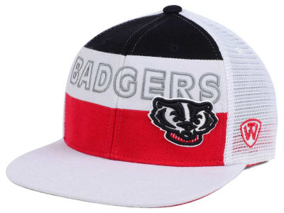 Wisconsin Badgers Top of the World NCAA Midcourt Snapback Cap