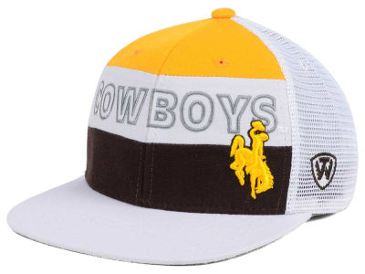 Wyoming Cowboys Top of the World NCAA Midcourt Snapback Cap