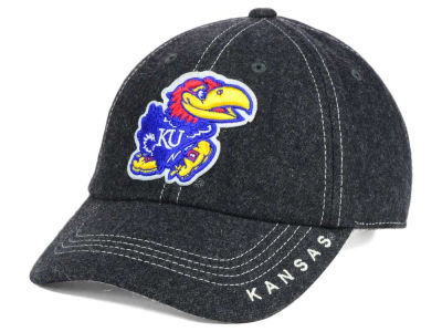 Kansas Jayhawks Top of the World NCAA Charles Adjustable Cap
