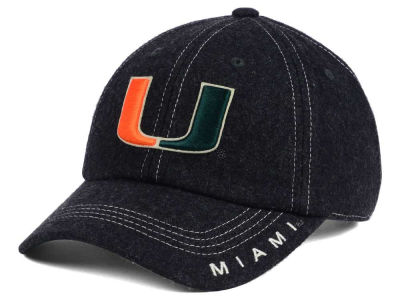Miami Hurricanes Top of the World NCAA Charles Adjustable Cap