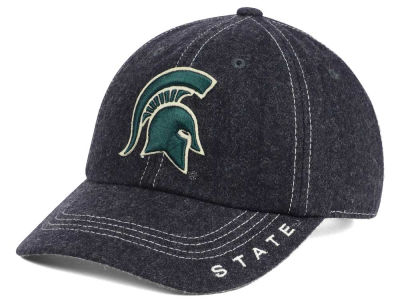 Michigan State Spartans Top of the World NCAA Charles Adjustable Cap