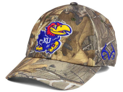Kansas Jayhawks Top of the World NCAA Fallout Stretch Cap