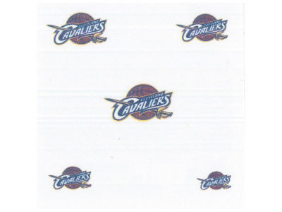 Cleveland Cavaliers Tattoo Nail