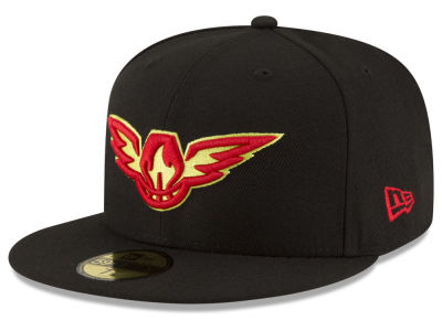 Atlanta Hawks New Era NBA Solid Team 59FIFTY Cap