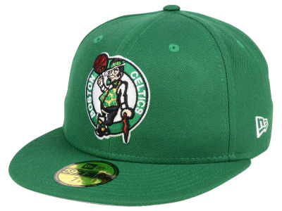 Boston Celtics New Era NBA Solid Team 59FIFTY Cap