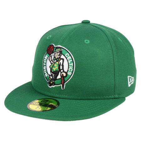 Boston Celtics New Era NBA Solid Team 59FIFTY Cap