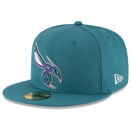 Charlotte Hornets New Era NBA Solid Team 59FIFTY Cap