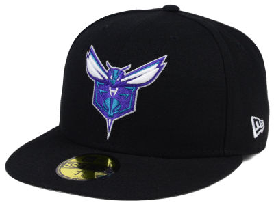 Charlotte Hornets New Era NBA Solid Team 59FIFTY Cap