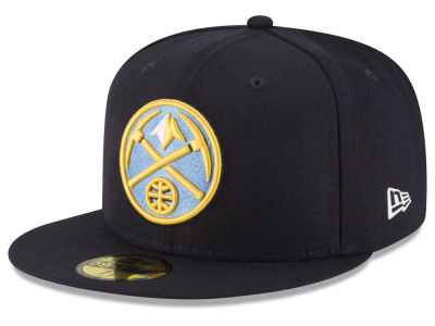 Denver Nuggets New Era NBA Solid Team 59FIFTY Cap