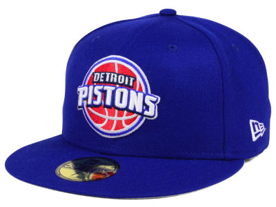 Detroit Pistons New Era NBA Solid Team 59FIFTY Cap
