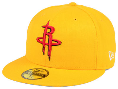 Houston Rockets New Era NBA Solid Team 59FIFTY Cap