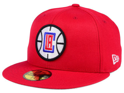 Los Angeles Clippers New Era NBA Solid Team 59FIFTY Cap