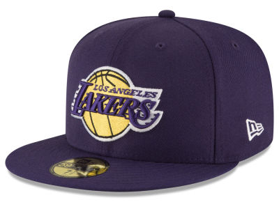 Los Angeles Lakers New Era NBA Solid Team 59FIFTY Cap
