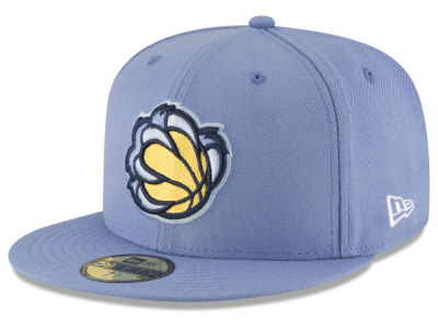 Memphis Grizzlies New Era NBA Solid Team 59FIFTY Cap