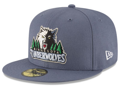 Minnesota Timberwolves New Era NBA Solid Team 59FIFTY Cap