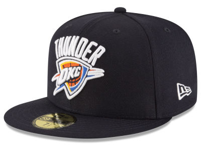 Oklahoma City Thunder New Era NBA Solid Team 59FIFTY Cap