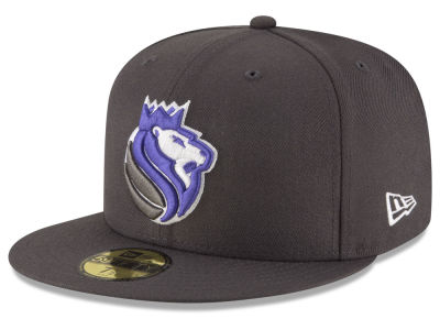 Sacramento Kings New Era NBA Solid Team 59FIFTY Cap
