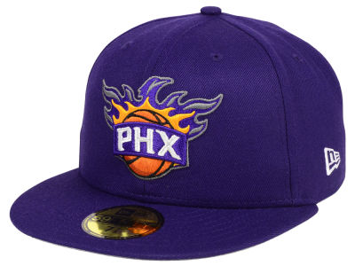 Phoenix Suns New Era NBA Solid Team 59FIFTY Cap