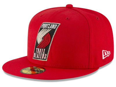 Portland Trail Blazers New Era NBA Solid Team 59FIFTY Cap