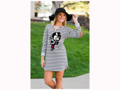 Ohio State Buckeyes Gameday Couture NCAA Women's OSU Exclusive Block-O-Striped Tunic