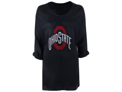 Ohio State Buckeyes NCAA Women's Oversized Knit Sweater