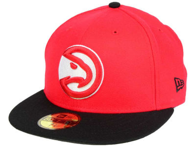 Atlanta Hawks New Era NBA 2 Tone Team 59FIFTY Cap