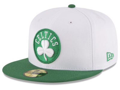 Boston Celtics New Era NBA 2 Tone Team 59FIFTY Cap