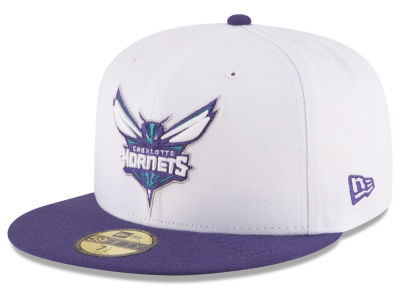 Charlotte Hornets New Era NBA 2 Tone Team 59FIFTY Cap