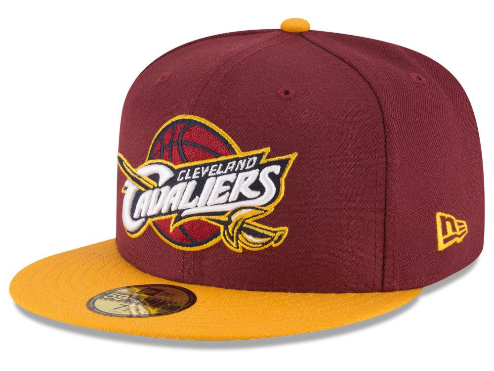 Cleveland Cavaliers New Era NBA 2 Tone Team 59FIFTY Cap  39aabe14d56d