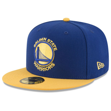 Golden State Warriors New Era NBA 2 Tone Team 59FIFTY Cap