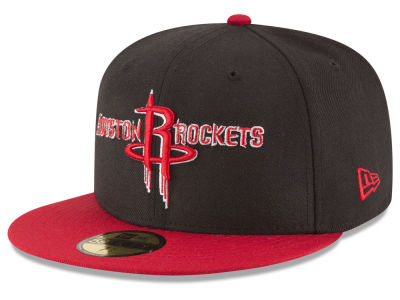 Houston Rockets New Era NBA 2 Tone Team 59FIFTY Cap