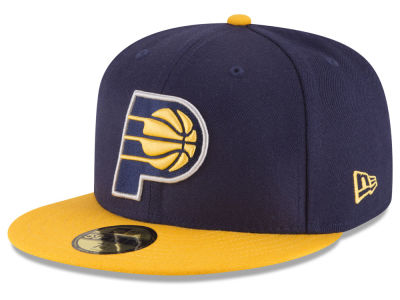 Indiana Pacers New Era NBA 2 Tone Team 59FIFTY Cap