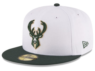 Milwaukee Bucks New Era NBA 2-Tone Team 59FIFTY Cap