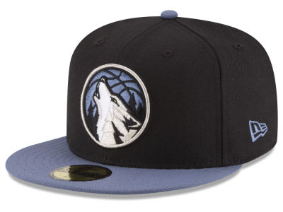 Minnesota Timberwolves New Era NBA 2 Tone Team 59FIFTY Cap