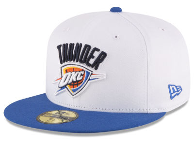 Oklahoma City Thunder New Era NBA 2 Tone Team 59FIFTY Cap