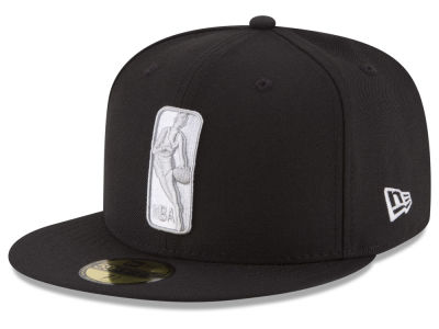 Brooklyn Nets New Era NBA Logoman 59FIFTY Cap