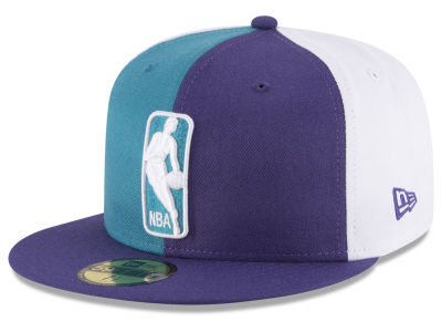 Charlotte Hornets New Era NBA Logoman 59FIFTY Cap