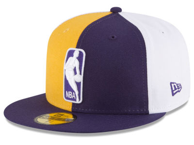 Los Angeles Lakers New Era NBA Logoman 59FIFTY Cap