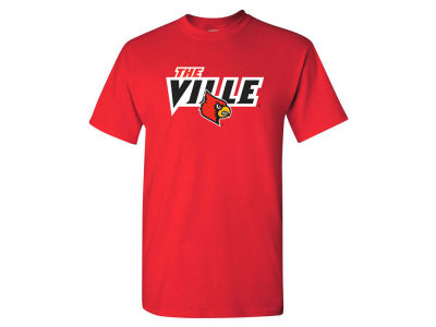 Louisville Cardinals NCAA Men's PP The Ville T-Shirt
