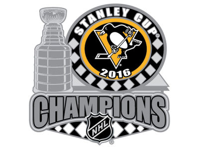 Pittsburgh Penguins 2016 Stanley Cup Champs Logo Pin