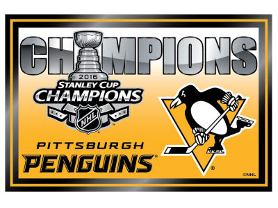 "Pittsburgh Penguins 2016 Stanley Cup Champs 2""x3"" Event Magnet"